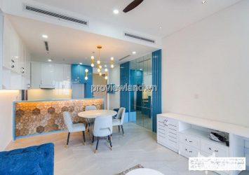 Palm Heights high floor rental apartment Luxury interior 3 bedrooms