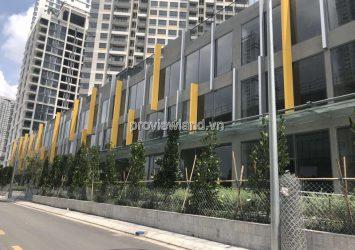 Shophose Masteri An Phu 1 ground floor 2 floors 4 bedrooms raw house for rent