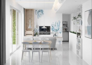 The Estella high-rise apartment fully furnished 3 bedrooms for rent