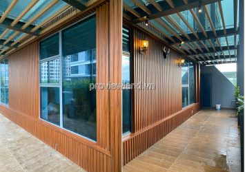 Sunwah Pearl apartment for sale with 3 bedrooms basic furniture river view