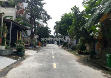 Land for sale on street 33 Binh An District 2 with area 350m2 near marina