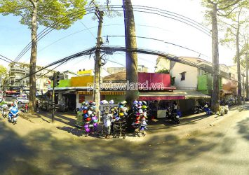 Quick sale of land in front of Nguyen Trai District 5 with an area of 589m2