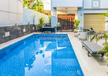 Thao Dien Villa in Compound area for sale 3 floors with area 600m2