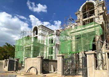 King Crown Thao Dien Villa for sale 1 basement 3 floors area of 12x23m