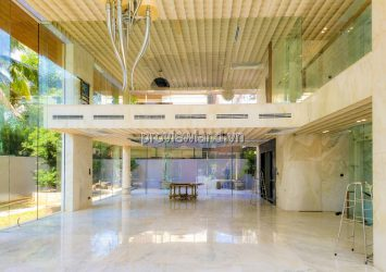 Thao Dien Villa frontage for sale 1 basement 4 floors with area 871m2