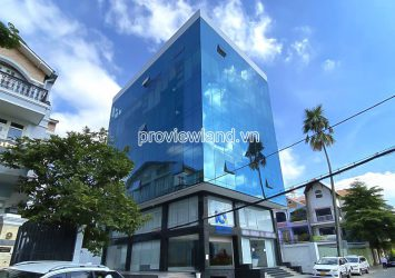 For sale Office Building front of Nguyen Huy Tuong Binh Thanh has area of 12x25m