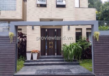 Villa for sale at Nguyen Duy Trinh Street, District 2 with land area of 188m2 3 floors new house