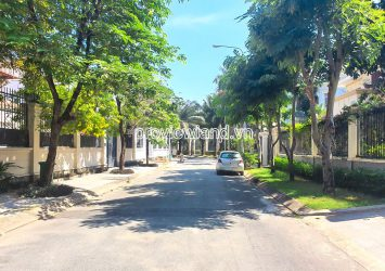 For sale the land with 2 fronts of Kim Son Thao Dien Villa with area 923m2