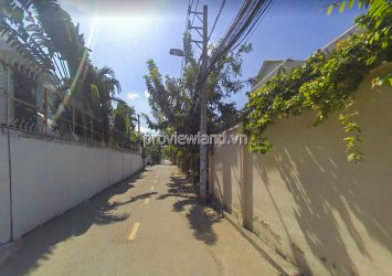 Residential land for sale at Street 59 Thao Dien District 2 area 117m2