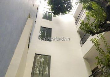 For rent newly built villa with front of Ton That Tung District 1 includes 5 floors