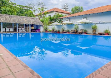Villa in Compound An Phu District 2 for rent include 2 floors area 400m2