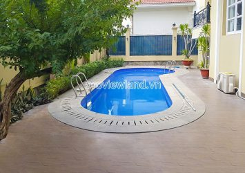 Luxury Villa for rent in Eden Thao Dien with garden and swimming pool