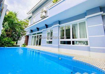 Villa for rent at Apark An Phu District 2 with swimming pool 1 basement 3 floors 12x20m