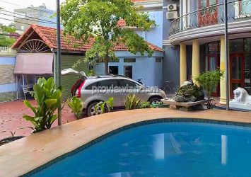 Thao Dien villa for rent corner 2 frontage swimming pool with area 600m2