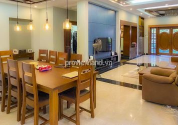 Villa in Compound Thao Dien 1 for rent includes 5 bedrooms with area 400m2