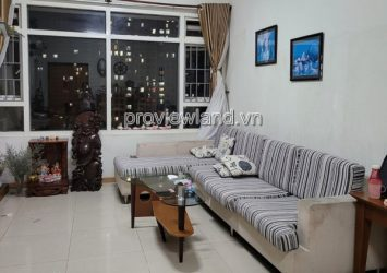 Saigon Pearl apartment for rent low floor 2 bedrooms with comfortable furniture