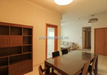 The Vista An Phu apartment for rent on the middle floor with 2 bedrooms full furnished & river view