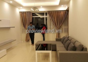 Saigon Pearl luxury apartment for sale with 3 bedrooms, 141m2, river view and Thu Thiem bridge