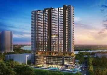 Apartment High floor in Q2 Thao Dien 3 bedrooms around for rent
