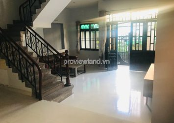 Thao Dien townhouse for rent corner unit 1 ground 2 floors with 4 bedrooms