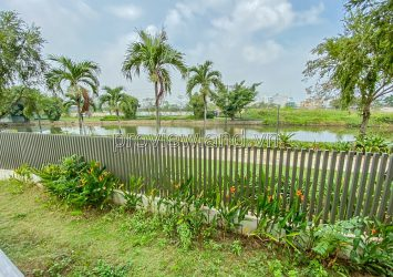 Villa for sale in Lucasta project in District 9 with the current state of raw houses 1 ground 2 floors