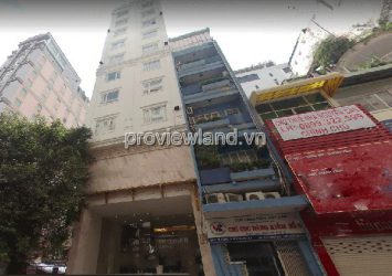 Selling District 1 hotel, front Ly Tu Trong, 20x21m, 1 basement + 8 floors