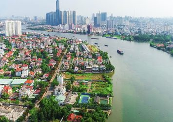 For sale 3 adjacent plots of land riverside Thao Dien Thu Duc with area of 832m2