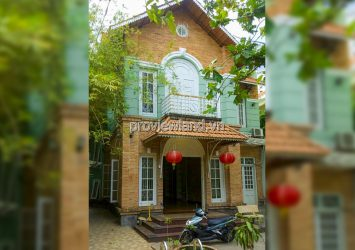 Pool villa for sale at Tran Quang Dieu District 3 includes 2 floors with area of 368m2