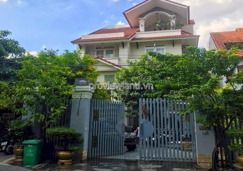 Compound Villa Tran Nao An Khanh for sale includes 4 floors area 10x30m