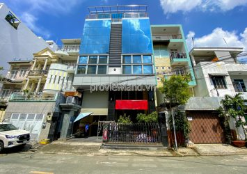 Frontage Office Building for sale at Lam Son Tan Binh 1 basement 7 floors area 10.5x25m