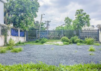 The land with 2 fronts of Eden Thao Dien Villa for sale area of 418m2