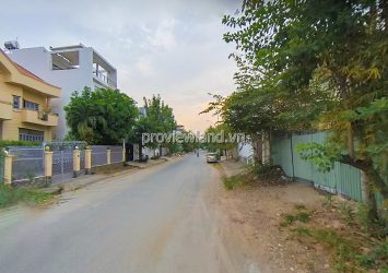 The land for sale in Nguyen Van Huong Thao Dien Villa area with an area 319m2