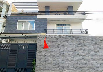 Villa for rent at Street 43 Thao Dien including 3 floors with area 10x20m