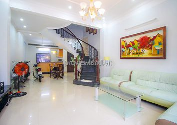 Townhouse for rent on Street 64 Thao Dien including 2 floors attic area 161m2