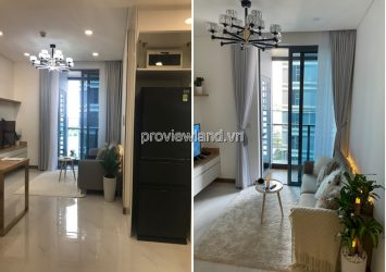 Sunwah Pearl apartment low floor 1 bedroom with river view furniture