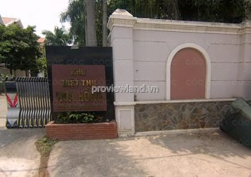 Selling Hoa Hong villa in District 2, closed security area 1 ground 2 floors 1