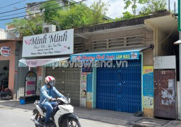 Selling land in front of Nguyen Dinh Chieu Phu Nhuan 375m2, pink book