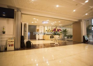 Hotel for sale in front of Le Thi Rieng District 1, land area 365m2 with 8 floors and swimming pool
