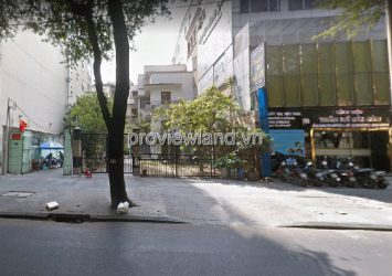 House for sale in District 1 land area 398m2 with 2 floors in front of Nguyen Du Street