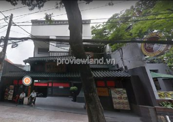 Townhouse for sale in front of Tran Quoc Thao District 3 land area of 543m2 with 2 floors