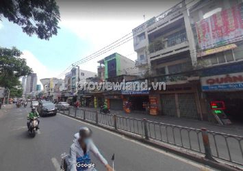 House for sale in front of Nguyen Tat Thanh street with an area of 336m2 with 1 ground floor 3 floors
