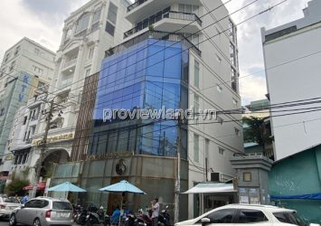 House for sale in front of Tran Nhat Duat District 1 land area 121m2 including 6 floors with glass panels