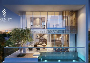 Penthouse Serenity Sky Villas for sale using area 625m2 with swimming pool & garden