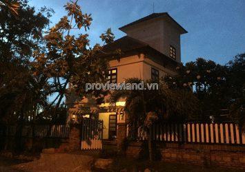 Thao Dien Villa View Saigon River Compound area for sale