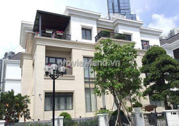Vinhomes Central Park villa fo sale corner unit land area 20m2 with 1 ground floor and 2 floors