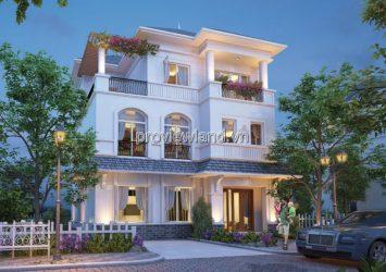 Vinhomes Central Park villas for sale land area 600m2 with 1 ground floor 2 floors