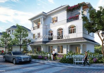 Vinhomes Tan Cang villa for sale land area 320m2 with 1 basement 3 floors 5 bedrooms