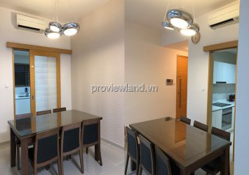 The Vista apartment for rent on middle floor with 3 bedrooms & river view