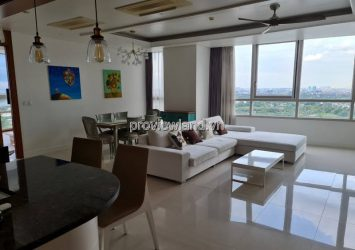 Xi Riverview apartment for sale on the middle floor with 3 bedrooms river view