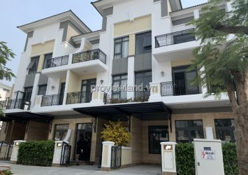 Verosa Park townhouse for sale in District 9 land area 102m2 rough house with 1 ground floor 2 floors
